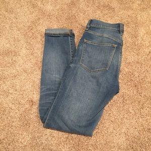 J.Crew Toothpick Jeans (size 24)